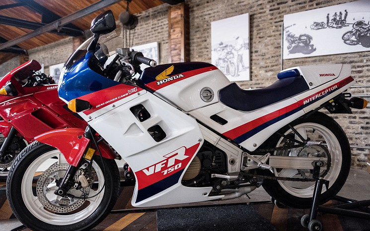 1986 Honda VFR750F Interceptor
